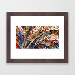Wheat Framed Art Print