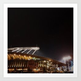 Kauffman at Night Art Print
