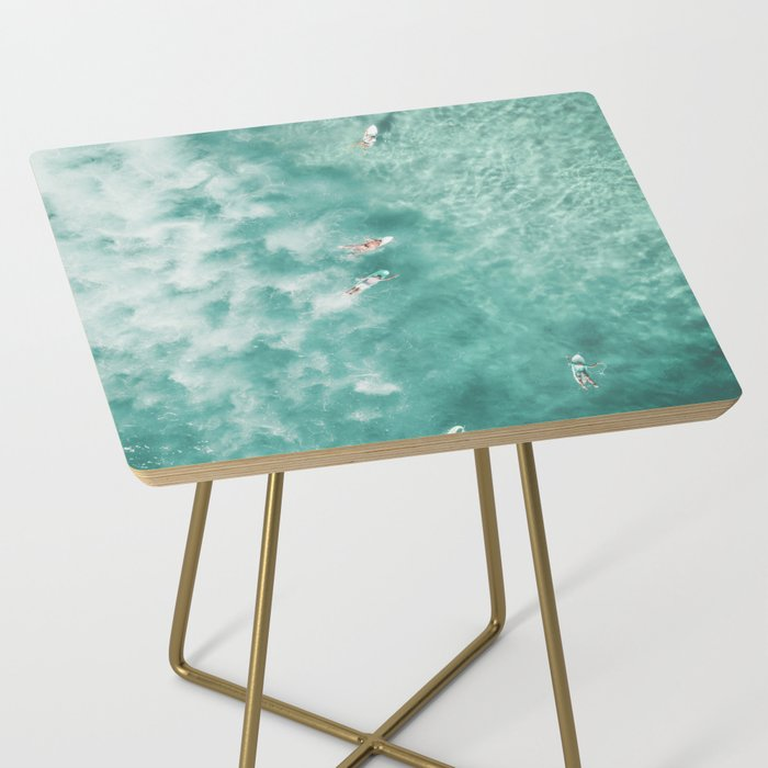 Surfing in the Ocean Side Table