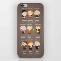 science iPhone & iPod Skins featuring science by Alapapaju