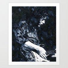 Guitar Legend 1 Art Print