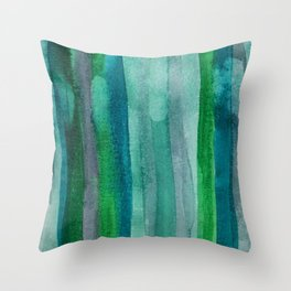 Abstract No. 378 Throw Pillow
