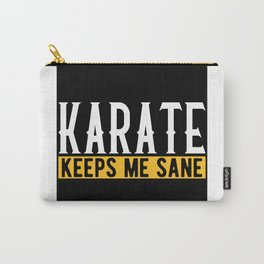 Karate Martial Arts Lovers Gift Idea Motif Carry-All Pouch