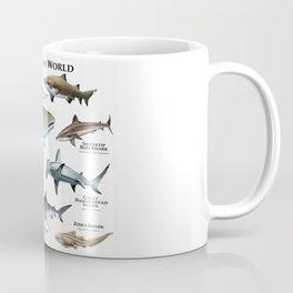 Sharks of the World Coffee Mug