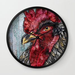 Rooster Royale Wall Clock