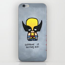 Super Emo Wolvie iPhone Skin