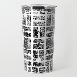 1954 Manhole Cover Ink Print From Beijing Travel Mug