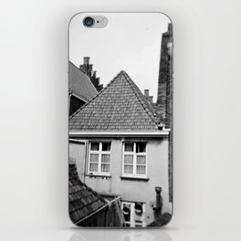 · My home...· Analogical Photography Black & White iPhone Skin