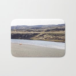 In the middle of nowhere, Iceland Bath Mat