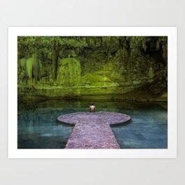 Suytun Cenote Art Print