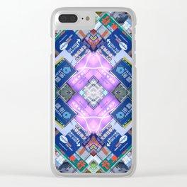 Hong Kong Kaleidoscope 03 Clear iPhone Case