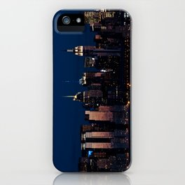 NYC Sunset iPhone Case
