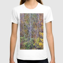 autumn branches T-shirt