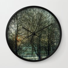 A layered view Wall Clock