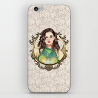 charli xcx iPhone & iPod Skins featuring Charli XCX by Share_Shop