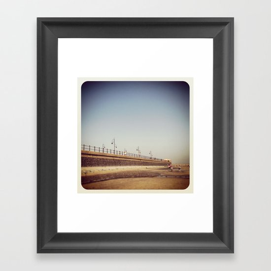 Tramore Strand, Co. Waterford, Ireland Framed Art Print