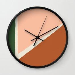 Vintage Palette Number 1 Wall Clock