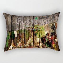 mojito beach style - barplace Rectangular Pillow