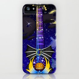 Fusion Keyblade Guitar #132 - Pumpkinhead & Star Seeker iPhone Case
