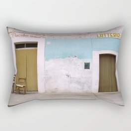 Vulture: shop and two chairs Rectangular Pillow