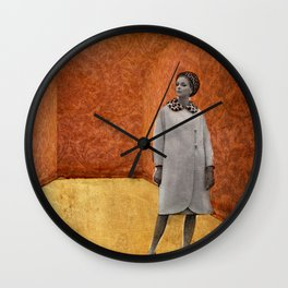 fashion lady Wall Clock