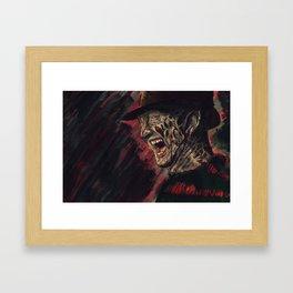 Freddy Framed Art Print