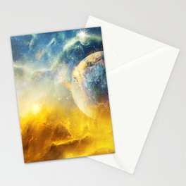 Dreaming the Stars Stationery Cards