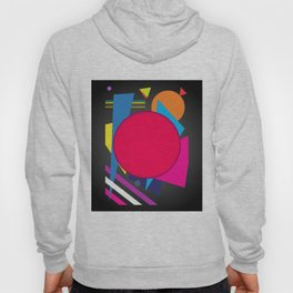 Abstract modern print Hoody