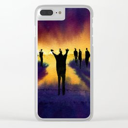 Demagogue Clear iPhone Case