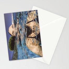 La nageuse Stationery Cards