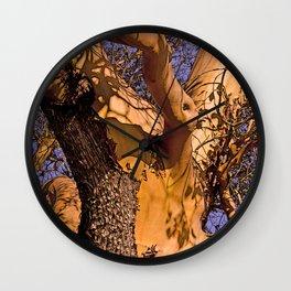 MADRONA TREE TORSO Wall Clock