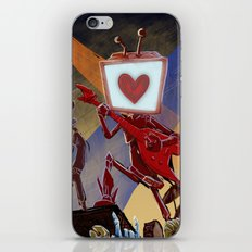 Rock Band Robot iPhone & iPod Skin