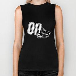 Oi Punk design, Gift for Skinheads, Ska and Reggae Music Fans Skins, Boots, Punks, Mods and Rockers Biker Tank