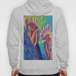 Colorful Roosters Hoody
