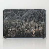 uncharted iPad Cases featuring Powdered Mountain by Uncharted Path