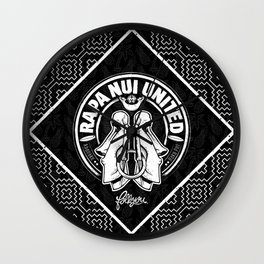 Rapa Nui United Wall Clock