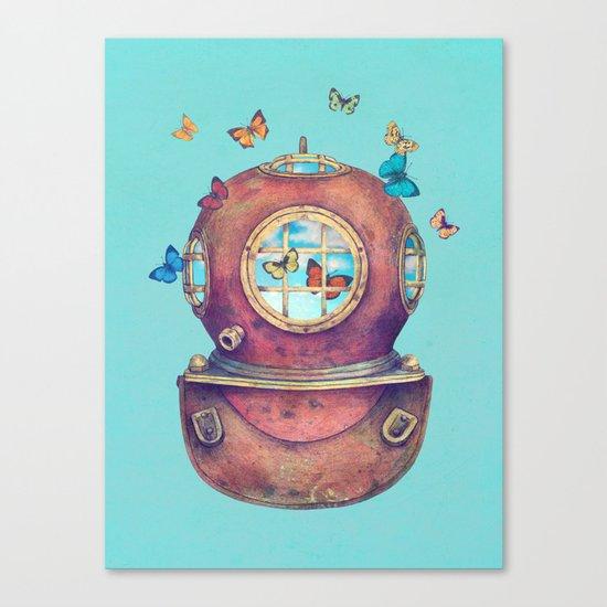 Inner Space - colour option Canvas Print