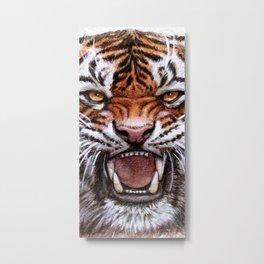Roar Tiger 914 Metal Print