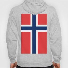 Norwegian Flag Hoody