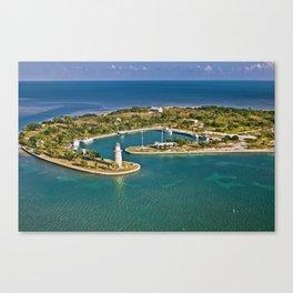 Biscayne Bay Boca Chita key Florida Canvas Print