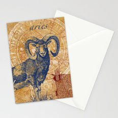 aries | widder Stationery Cards