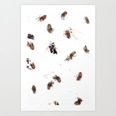 Winged Critters 2 Art Print