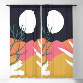 Bright Desert Night Blackout Curtain
