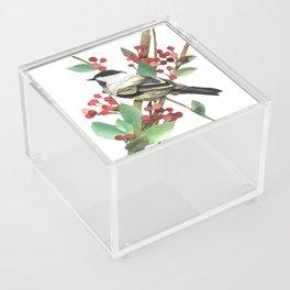 Berry Nice Chickadee Acrylic Box