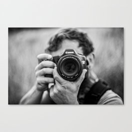 Into The Lens Canvas Print
