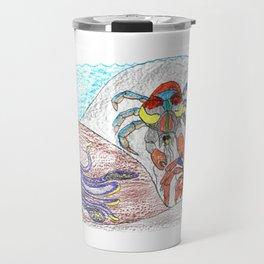 Cuttlefish & Coconut Crabs Travel Mug