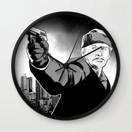 Death Wish Wall Clock