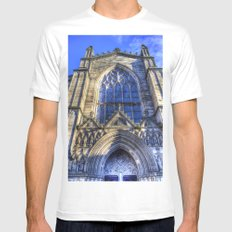 St Giles Cathedral Edinburgh White MEDIUM Mens Fitted Tee
