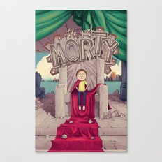 The GOOD Morty Canvas Print