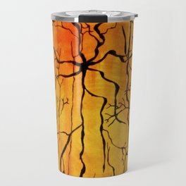 Neural Activity (An Ode to Cajal) Travel Mug